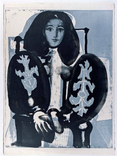 Francoise Gilot by Picasso