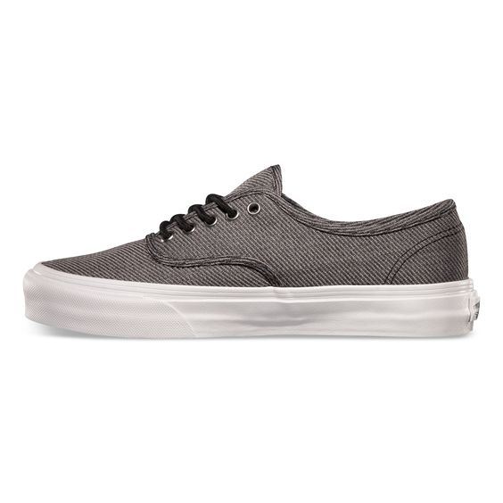 Vans Suiting Authentic Slim. Black/True White. Suits on the feet ...