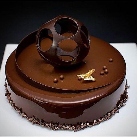Chocolate Glaze Cake Decoration : Pinterest   The world s catalog of ideas