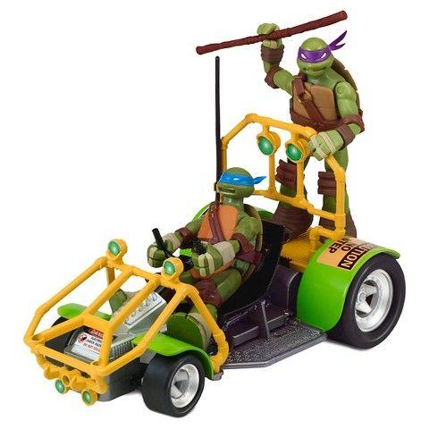 Teenage Mutant Ninja Turtles Radio Control Patrol Buggy