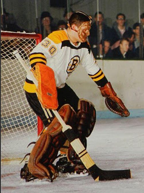 Bernie Parent 1965 67 Boston Bruins Boston Bruins Hockey Bruins Hockey Hockey