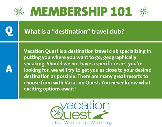 Be adventurous! Your destination travel club has lots of new and exciting places to explore. #Membership101
