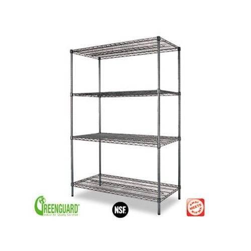 costco alera wire shelving 48x24x72 office furniture pinterest wire products and. Black Bedroom Furniture Sets. Home Design Ideas