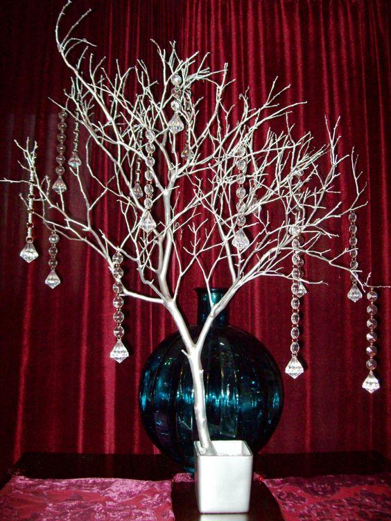 Crystal tree wishing manzanita branch