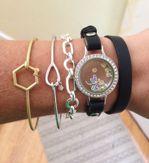My new Origami Owl arm candy! LOVE! Available 8/18!! www.kquery.origamiowl.com