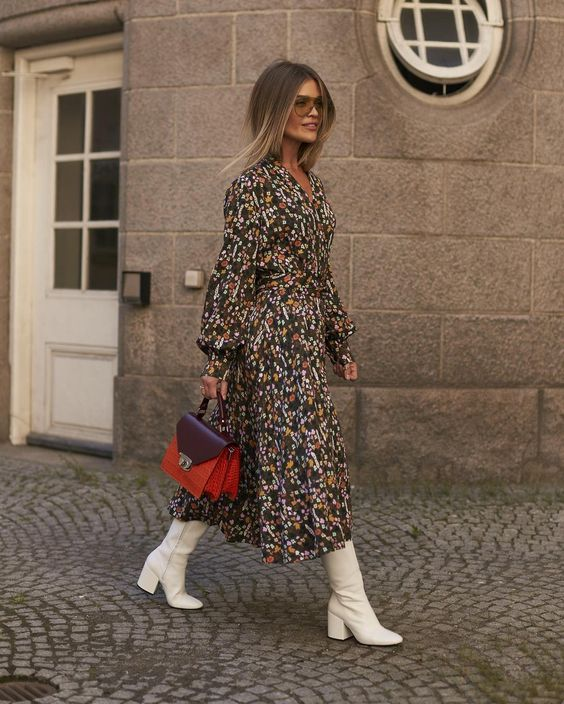 Floral Street Style – Πως να φορεσεις floral το φθινοπωρο και τον χειμωνα – FaShionFReaks
