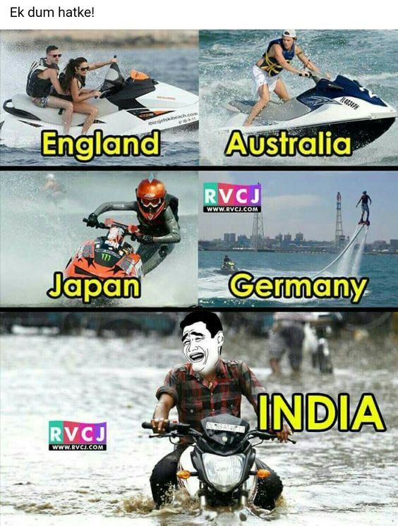 But us Indians are from India....some let's not disrespect our country