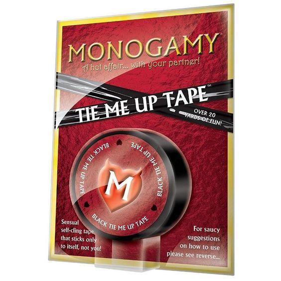 Monogamy Tie Me Up Tape - Adult Gifts Australia