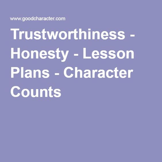 essay about honesty and integrity