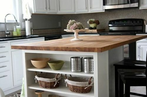 Inspiring Kitchen Countertop Outlet Height Decoration Ideas That Make A Real Impact Ikea Butcher Block Butcher Block Island Kitchen Butcher Block Countertops