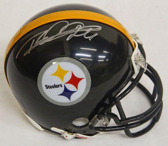 Rod Woodson Signed Steelers Riddell Replica Mini Helmet - Schwartz COA