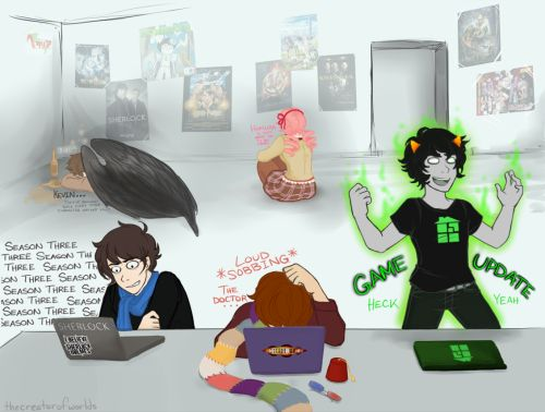 Homestuck looks awesome. I would love to do a fandomstuck cosplay some day