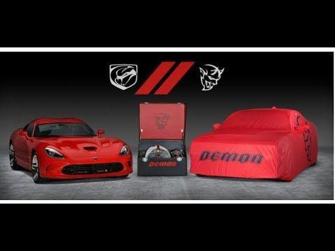 The Last Dodge Demon And Viper Dodge Viper Challenger Srt Demon