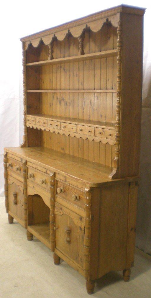 Large Pine Welsh Dresser Sideboard Base