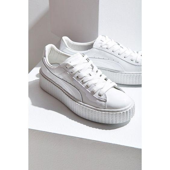 Puma Basket Platform White