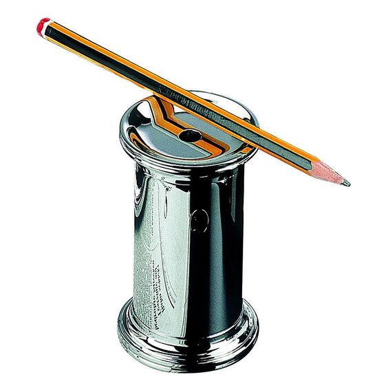 OfficeAccessories.com - Chrome Plated Pencil Sharpener, $178.00 (http://www.officeaccessories.com/chrome-plated-pencil-sharpener/)