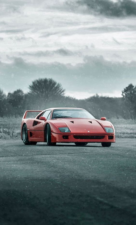 The ORIGINAL Supercar rivalry: Ferrari F40 - Driving passion Heritage Porsche 959 - Efficient Technical progression. #cars #motorcycles #cycles