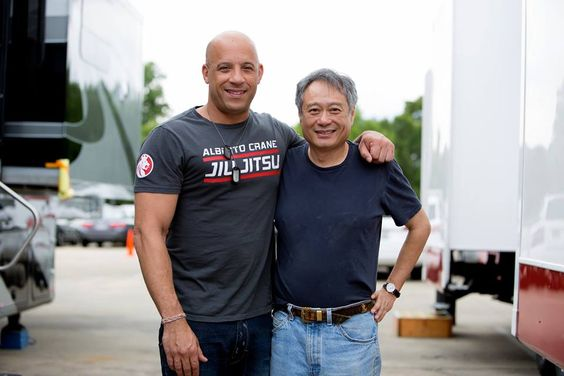 Honored to be working with two-time Oscar winner, Ang Lee...  Blessed, inspired and grateful...