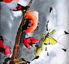 """""""Haiku 2 – Flor o Mariposa"""" (Flower or Butterfly)  