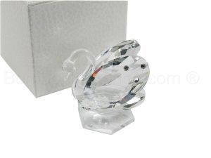 Medium sized swan created with Swarovski crystals and encrusted with rhinestones a beautiful and elegant diy #wedding #favour #favor http://www.bombonierashop.com/en/department/4/Wedding-Favours.html