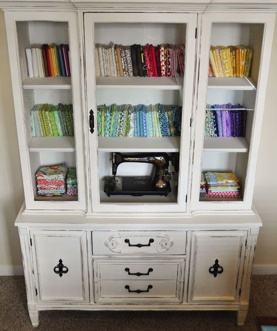 8 best China cabinets images on Pinterest | Repurposed furniture ...