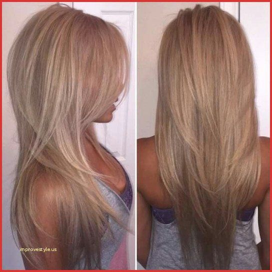 V Shaped Haircut For Short Hair 163865 Unique Long V Hairstyles Adriculous In 2020 Long Layered Haircuts Long Layered Hair Thick Hair Styles