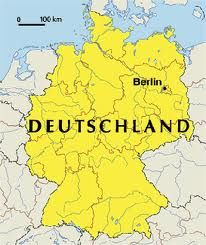Germany!  Where my daughter was born!