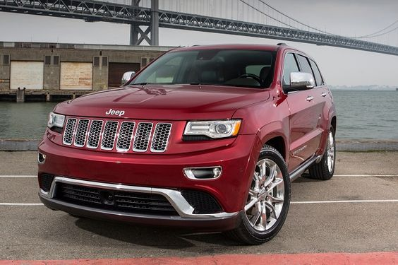 2016 Jeep Grand Cherokee - front2