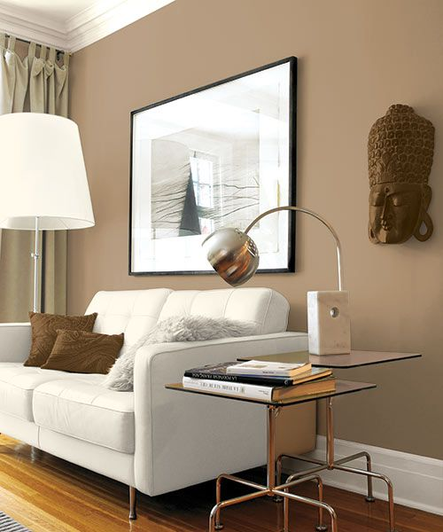 Middle Ground For A Medley Neutrals Tan Living Room Brown Walls Living Room Tan Walls Living Room