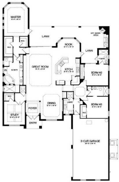 Bougainvillea naples and rich home on pinterest 2800 square foot house plans