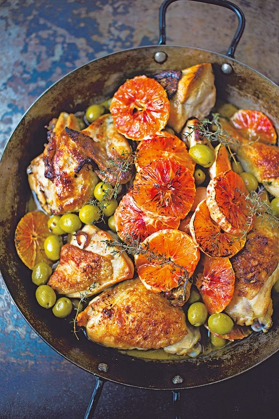 Diana Henry's Sicilian-style chicken recipe makes a full-of-flavour dinner using the whole chicken.