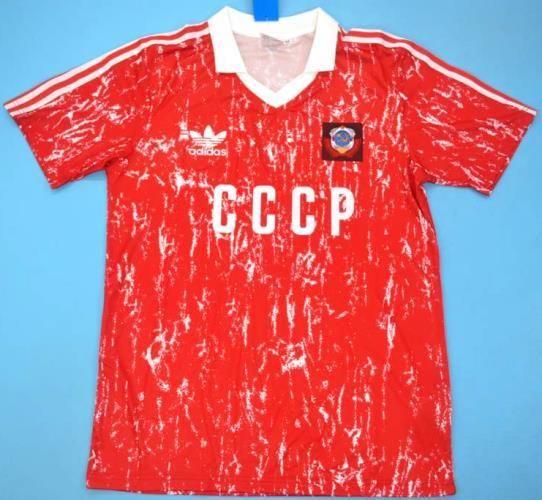 Soviet Union retro soccer jersey World Cup 90 | Coupe du