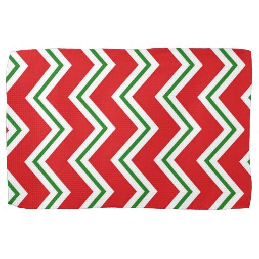 Christmas Pattern Holiday kitchen towel