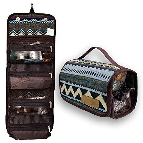 Hanging Roll Up Travel Toiletry Bag Kit Organizer Cosmetic Makeup Case Wash Bags For Women Men Compact Porta In 2020 Toiletry Bag Travel Toiletry Bag Travel Toiletries