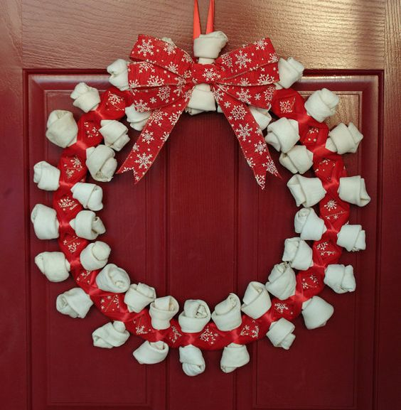 Crafts For Dog Lovers: Homemade, Dog Names And Dog Wreath On Pinterest