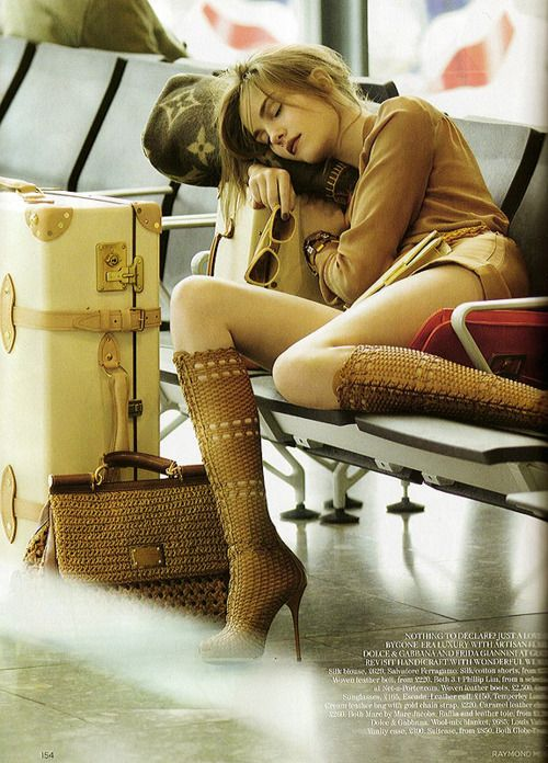 Travel chic. Vogue UK, February 2011