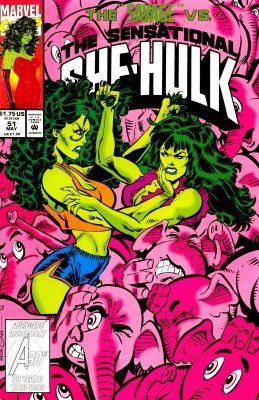 Marvels The sensational She Hulk #29- featuring Spiderman