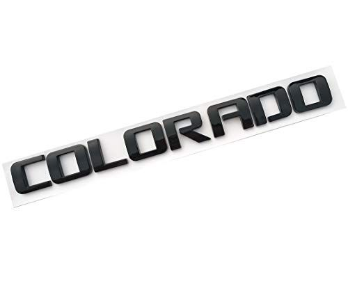 3D Badge Replacement Decal for Gm 07-16 Gm Chevrolet Yuauto COLORADO Letters Car Emblems