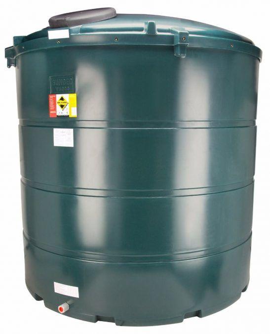 5000 Litre Vertical Plastic Bunded Oil Tank Oil Storage Storage Tank Heating Oil
