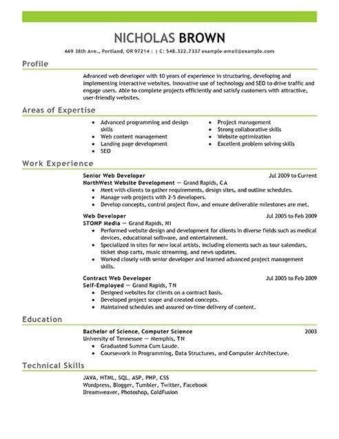 Best It Web Developer Resume Example Livecareer Job In 2020 Nursing Resume Template Registered Nurse Resume Nursing Resume Examples