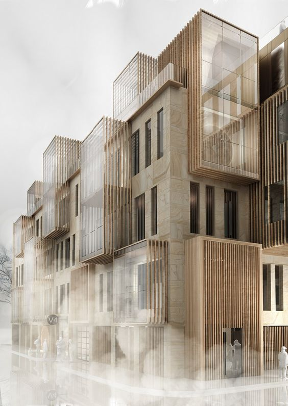New Apartment Building in UNESCO World Heritage Site in Riga by United Riga Architects P.s. Kinder Unboxing