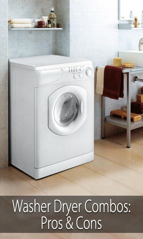 How to Avoid the Laundromat but Still Have Clean  - interesting points about using the smaller washer dryer combos. You only need access to cold water and a regular electrical plug in for these models. That makes them very convenient for small spaces in my opinion.