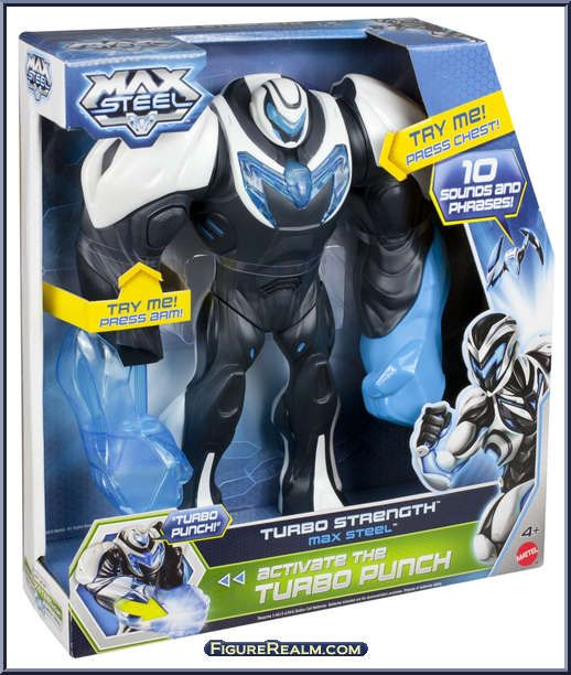 Max Steel Toys 2000 Turbo Strength Max Steel From Max Steel