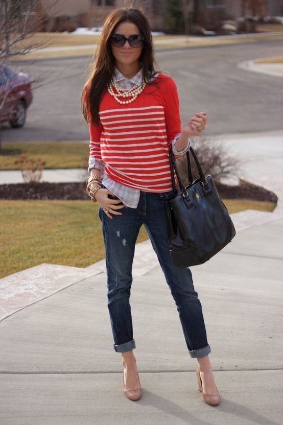 Preppy Chic Style Fur Frauen Frauen Mode Preppy Mode Klassische Outfits Modestil