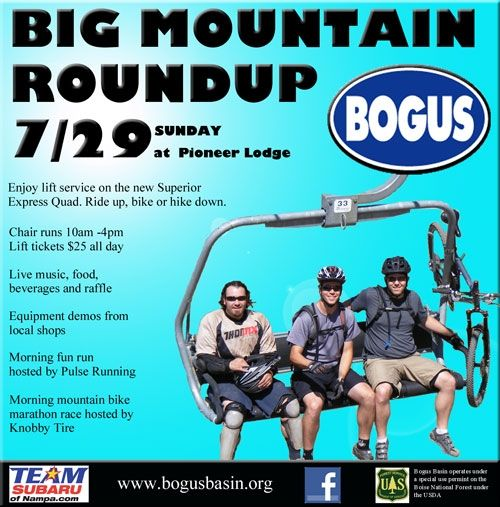 Big Mountain Roundup @ Bogus Basin