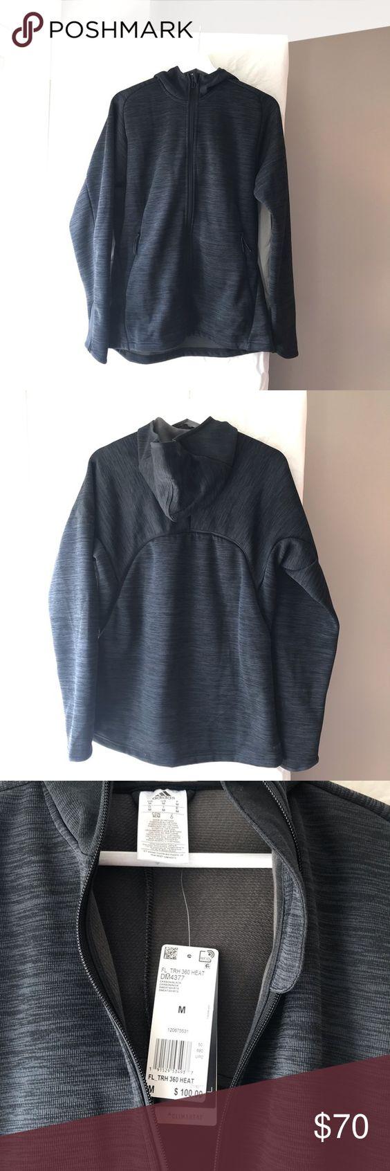 Predownload: Adidas Climaheat 360 Black Gray Zip Hoodie Size M Grey Zip Hoodie Zip Hoodie Hoodies [ 1692 x 564 Pixel ]