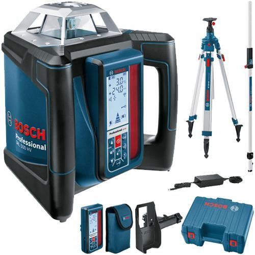 Bosch Grl500hv Rotation Laser Kit Ferramentas Organizar