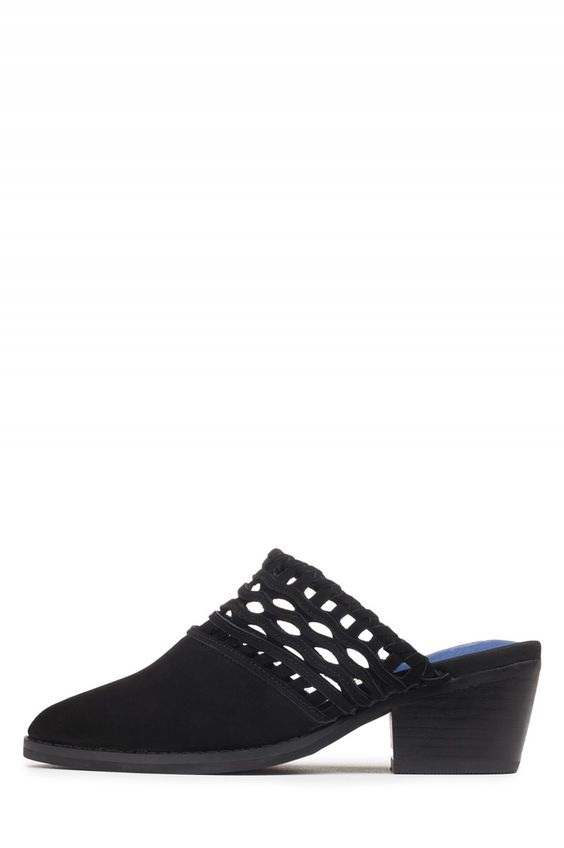 Jeffrey Campbell Shoes CUCAMONGA Shop All in Black Nubuck