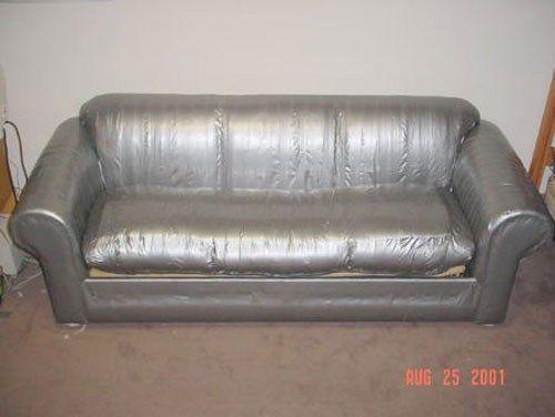 Duct Tape Furniture, Dog Proof Furniture