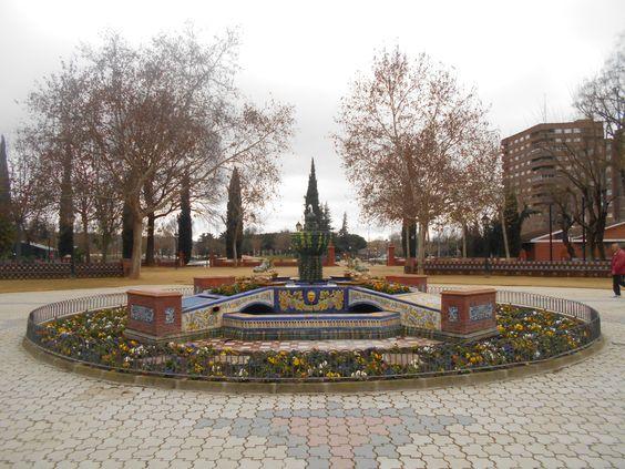 Fuente de las Ranas.Jardines del Prado.